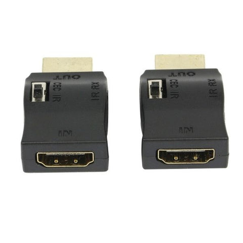 Extend IR Over HDMI Cable Wide Band IR Control Over HDMI Injector Adapter Kit, Pack of 2