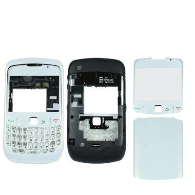 High Quality version, Full Housing Cover for BlackBerry 8520(White)