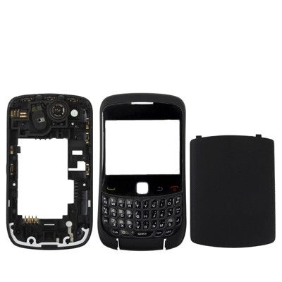 Full Housing Cover for BlackBerry 9300(Black)