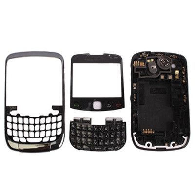 High Quality Full Housing cover for BlackBerry 9300(Black)