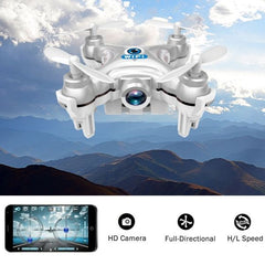 CX-10W WiFi Mini Remote Control Quadcopter with Camera (Grey)