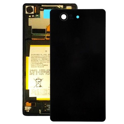 High Quality Battery Back Cover Replacement for Sony Xperia Z3 Compact / D5803(Black)