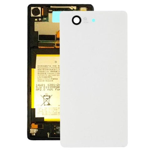 High Quality Battery Back Cover Replacement for Sony Xperia Z3 Compact / D5803(White)