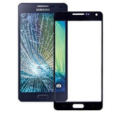 iPartsBuy Front Screen Outer Glass Lens for Samsung Galaxy A5 / A500(Black) - Zasttra.com