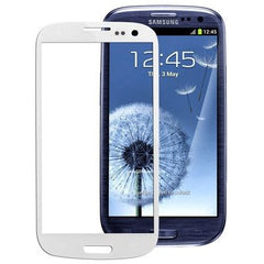 High Quality Front Screen Outer Glass Lens for Samsung Galaxy SIII / i9300(White)