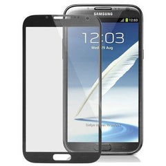 High Quality Front Screen Outer Glass Lens for Samsung Galaxy Note II / N7100 (Black)
