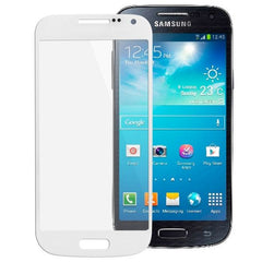 High Quality Front Screen Outer Glass Lens for Samsung Galaxy S IV mini / i9190 (White)