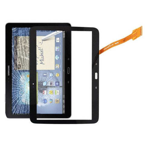 High Quality Touch Screen Digitizer Replacement Part for Samsung Galaxy Tab 3 10.1 P5200 / P5210(Black)