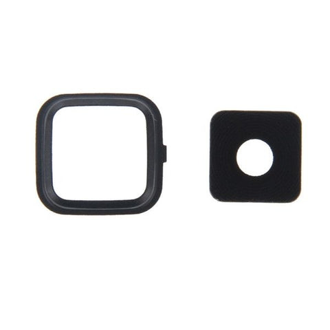 iPartsBuy Camera Lens Cover Replacement for Samsung Galaxy Note 4 / N910(Black)