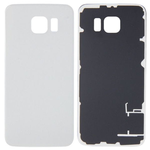 iPartsBuy Battery Back Cover Replacement for Samsung Galaxy S6 / G920(White)