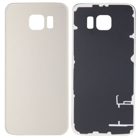 iPartsBuy Battery Back Cover Replacement for Samsung Galaxy S6 / G920(Gold)