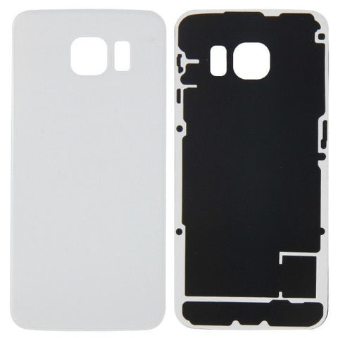 iPartsBuy Battery Back Cover Replacement for Samsung Galaxy S6 Edge / G925(White)