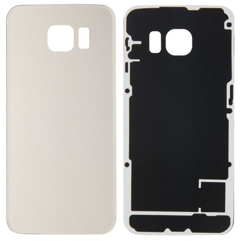 iPartsBuy Battery Back Cover Replacement for Samsung Galaxy S6 Edge / G925(Gold)