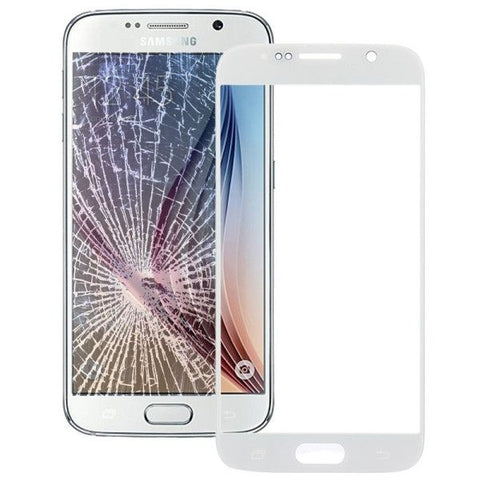 iPartsBuy Front Screen Outer Glass Lens for Samsung Galaxy S6 / G920(White)