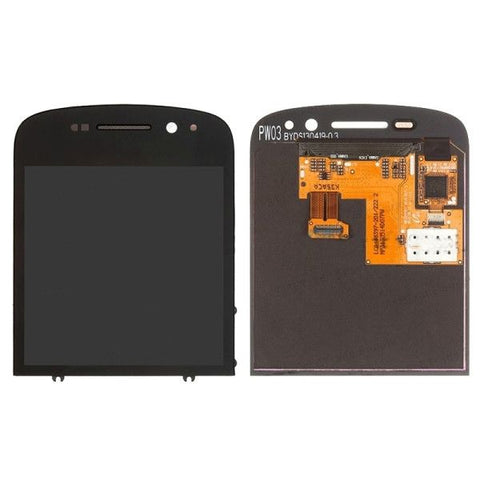 iPartsBuy LCD Screen + Touch Screen Digitizer Assembly for BlackBerry Q10(Black)