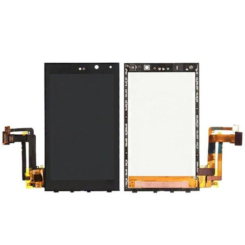 iPartsBuy LCD Screen + Touch Screen Digitizer Assembly for BlackBerry Z10