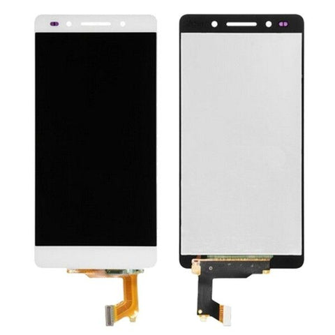 iPartsBuy LCD Screen + Touch Screen Digitizer Assembly for Huawei Honor 7(White)