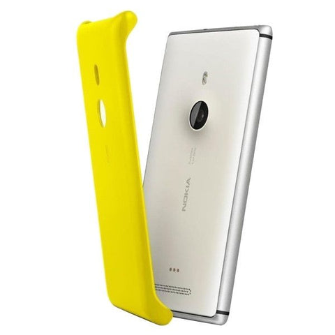 CC-3065 QI Standard Appropriative Wireless Charging Cover Case Shell for Nokia Lumia 925(Yellow)