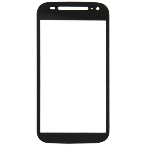 iPartsBuy Front Screen Outer Glass Lens Replacement for Motorola Moto E (2nd Gen ) / XT1511(Black)