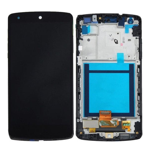 iPartsBuy LCD Display + Touch Screen Digitizer Assembly with Frame Replacement for Google Nexus 5 / D820 / D821(Black)