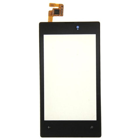 iPartsBuy Touch Screen with Frame Replacement for Nokia Lumia 520(Black)