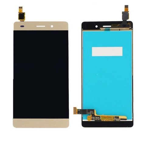 iPartsBuy LCD Screen + Touch Screen Digitizer Assembly Replacement for Huawei P8 Lite(Gold)
