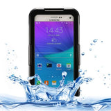 IPX8 TPU + PC Waterproof Protective Case with Lanyard for Samsung Galaxy Note 5 / N920(Black) - Zasttra.com
