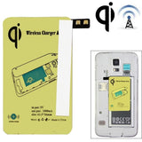 Online Buy 5V 1000mAh Wireless Mobile Charge Receiver, Applies for Qi Standard, Special Design for Samsung Galaxy S5 / G900(Yellow) | South Africa | Zasttra.com