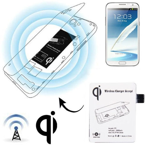Wireless Charger Receiver Module for Samsung Galaxy Note II / N7100(White)
