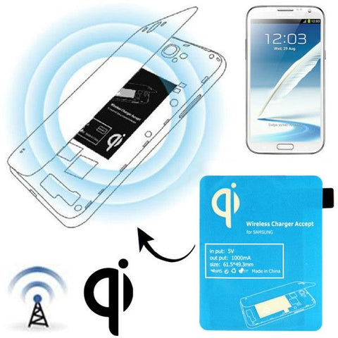 Wireless Charger Receiver Module for Samsung Galaxy Note II / N7100(Blue)