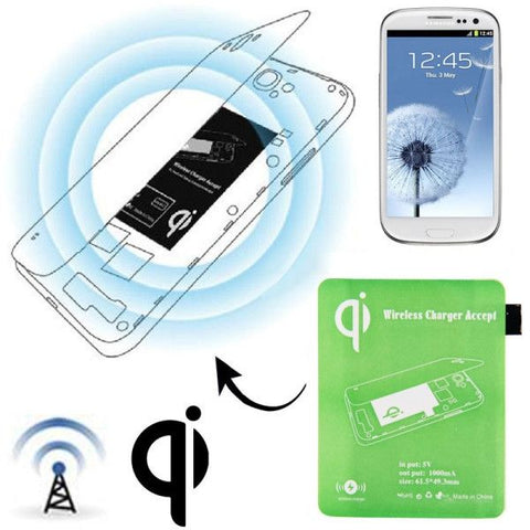 Wireless Charger Receiver Module for Samsung Galaxy S III / i9300(Green)