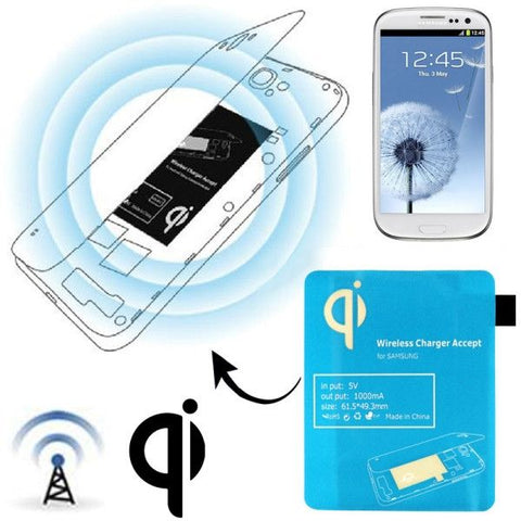 Wireless Charger Receiver Module for Samsung Galaxy S III / i9300(Blue)