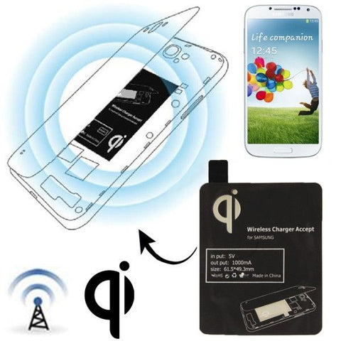 Wireless Charger Receiver Module for Samsung Galaxy S IV / i9500(Black)