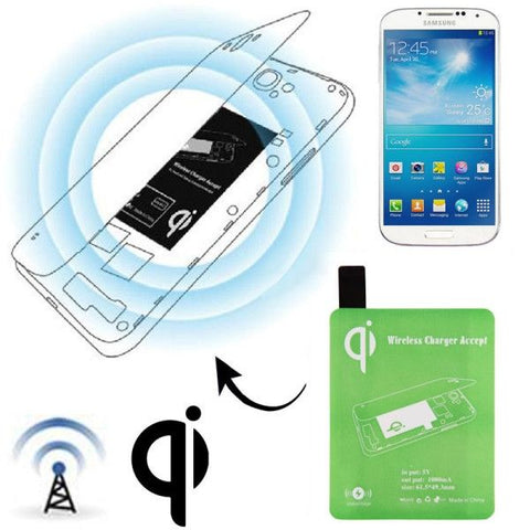 Wireless Charger Receiver Module for Samsung Galaxy S IV / i9500(Green)