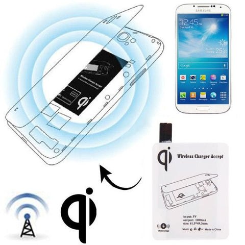 Wireless Charger Receiver Module for Samsung Galaxy S IV / i9500(White)