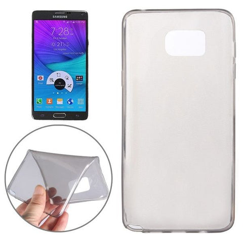 Ultrathin TPU Protective Case for Samsung Galaxy Note 5 / N920(Grey)