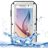 LOVE MEI for Samsung Galaxy S6 / G920 Metal Ultra-thin Waterproof Dustproof Shockproof Powerful Protective Case (Silver) - Zasttra.com