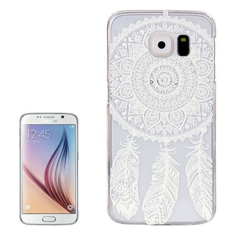 For Samsung Galaxy S6 / G920 Dreamcatcher Pattern Transparent PC Protective Case