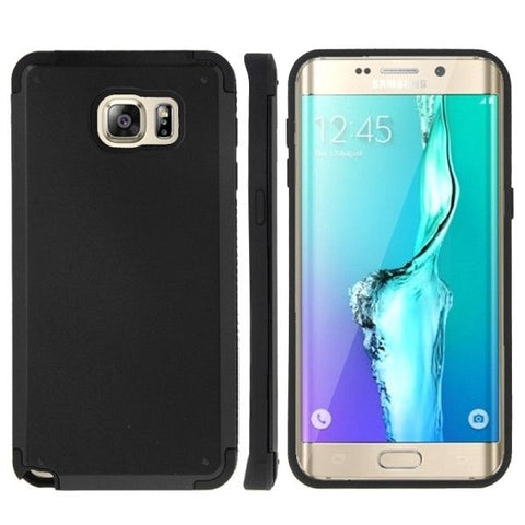 PC + TPU Combination Case for Samsung Galaxy S6 edge+ / G928(Black)