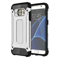For Samsung Galaxy S7 Edge / G935 Tough Armor TPU + PC Combination Case (Silver)