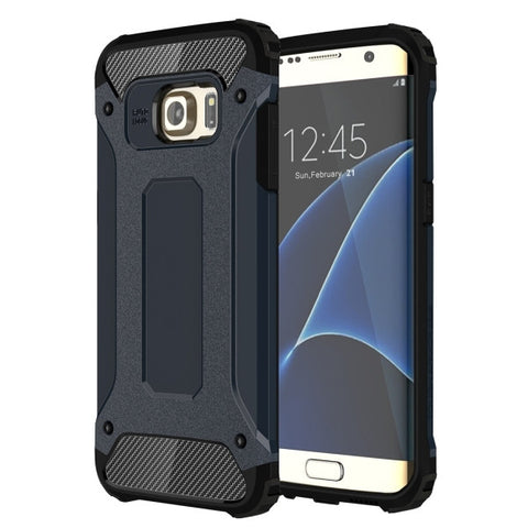 For Samsung Galaxy S7 Edge / G935 Tough Armor TPU + PC Combination Case (Dark Blue)
