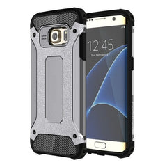 For Samsung Galaxy S7 Edge / G935 Tough Armor TPU + PC Combination Case (Grey)
