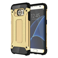 For Samsung Galaxy S7 Edge / G935 Tough Armor TPU + PC Combination Case (Gold)