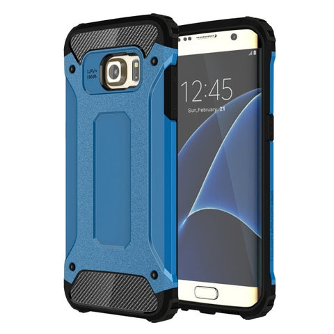 For Samsung Galaxy S7 Edge / G935 Tough Armor TPU + PC Combination Case (Blue)
