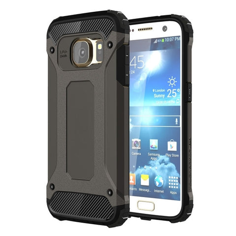 For Samsung Galaxy S7 / G930 Tough Armor TPU + PC Combination Case (Black)