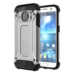 For Samsung Galaxy S7 / G930 Tough Armor TPU + PC Combination Case (Silver)