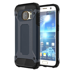 For Samsung Galaxy S7 / G930 Tough Armor TPU + PC Combination Case (Dark Blue)