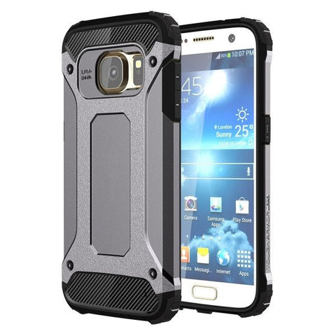 For Samsung Galaxy S7 / G930 Tough Armor TPU + PC Combination Case (Grey)