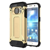 For Samsung Galaxy S7 / G930 Tough Armor TPU + PC Combination Case (Gold) - Zasttra.com