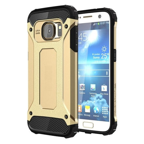 For Samsung Galaxy S7 / G930 Tough Armor TPU + PC Combination Case (Gold)